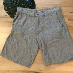 Patagonia Sz 34 Linen Blend Shorts